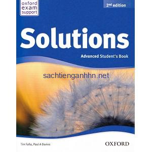 Solutions Advanced Student's Book 2nd