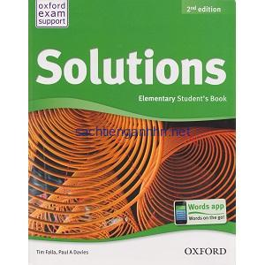 Solutions 2nd Elementary Student Book