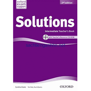 Solutions Pre-Intermediate Teacher's Book 2nd pdf ebook audio cd