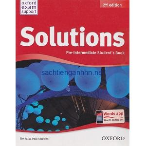 Solutions elementary students book 2nd resources for teaching solutions intermediate students book 2nd solutions pre intermediate students book 2nd fandeluxe