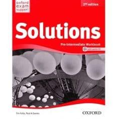Solutions Pre-Intermediate Workbook 2nd