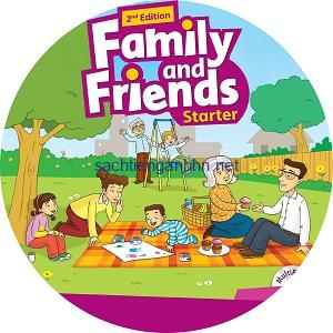 Family and Friends Starter 2nd Edition Class Audio CD