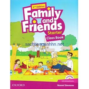 Family and Friends Starter Class Book 2nd Edition