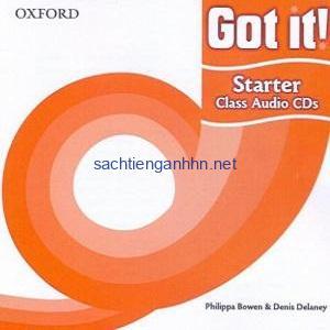Got it! Starter Audio CD