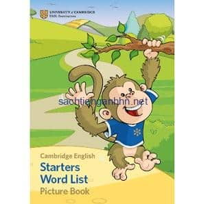 Cambridge English Starters Word List Picture Book