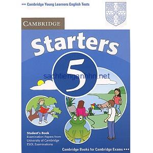 Cambridge YLE Tests Starters 5 Student Book