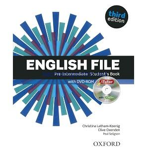 English File Pre-Intermediate Student's Book 3rd Edition