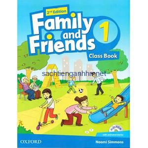Family and Friends 1 Class Book 2nd Edition