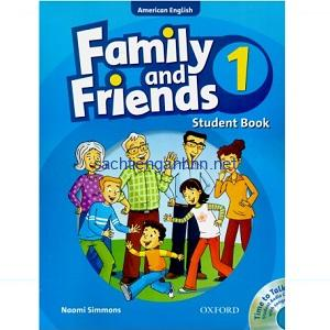 Family and Friends 1 Student Book American English
