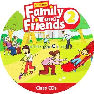 Family and Friends 2 2nd Edition Class Audio CD1