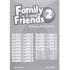 Family and Friends 2 Photocopy Masters Book