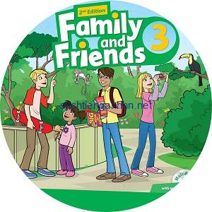 Family and Friends 3 2nd Edition Class Audio CD3