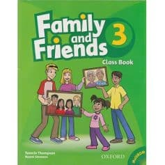 Family and Friends 3 Class Book