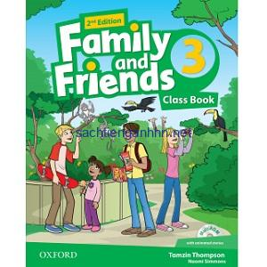 Family and Friends 3 Class Book 2nd Edition