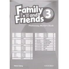 Family and Friends 3 Photocopy Masters Book