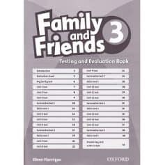 Family and Friends 3 Testing and Evaluation Book