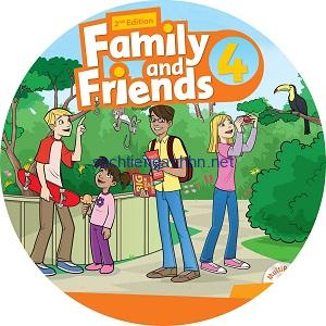Family and Friends 4 2nd Edition Class Audio CD2
