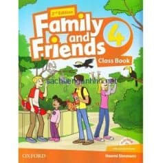 Family and Friends 4 Class Book 2nd Edition