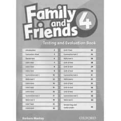 Family and Friends 4 Testing and Evaluation Book
