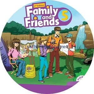 Family and Friends 5 2nd Edition Class Audio CD3
