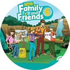 Family and Friends 6 2nd Edition Class Audio CD3