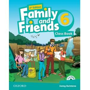 Family and Friends 6 Class Book 2nd Edition