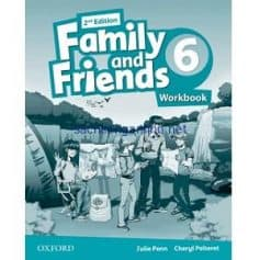 Family and Friends 6 Workbook 2nd Edition