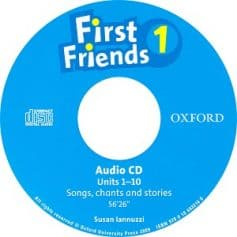 First Friends 1 Audio CD Songs, Chants and Stories