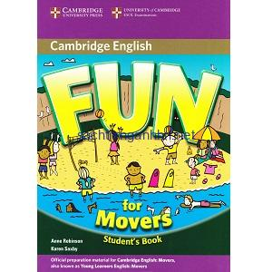 Fun for starters 4th edition student's book with online activities.