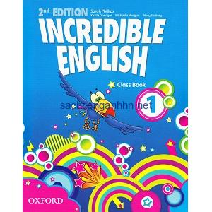 Incredible English 1 Class Book 2nd Edition