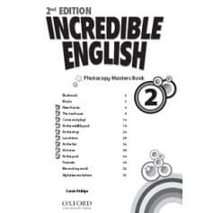 Incredible English 2 Photocopy Masters Book 2nd Edition
