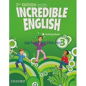 Incredible English 3 Activity Book 2nd Edition