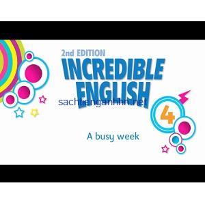 Incredible English 4 2nd Edition Video