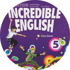 Incredible English 5 2nd Edition Audio Class CD3