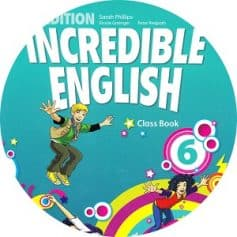 Incredible English 6 2ndEd Audio Class CD4 CYL Movers practice - Tests