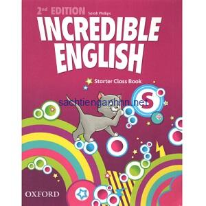 Incredible English Starter Class Book 2nd Edition