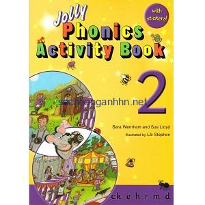 Jolly Phonics Activity Book 2