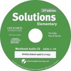 Solutions Elementary 2nd Workbook Audio CD