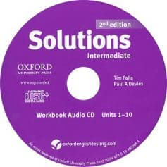 Solutions Intermediate  2nd Workbook Audio CD