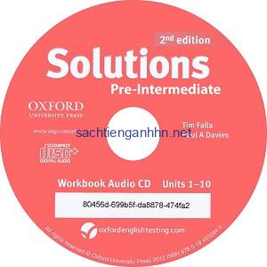 Solutions Pre-Intermediate  2nd Workbook Audio CD