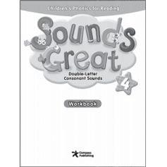 Sounds Great 4 Double-Letter Consonant Sounds Workbook