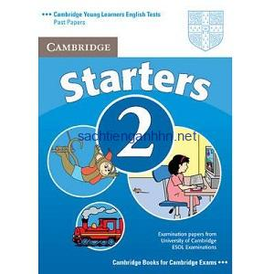 Cambridge YLE Tests Starters 2 Student Book