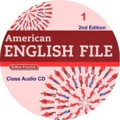 American English File 1 2nd Edition Class Audio CD4