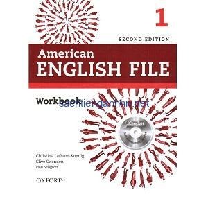American English File 1 Workbook 2nd Edition