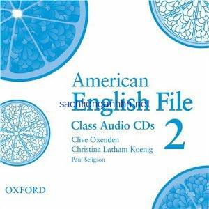 American English File 2 Class Audio CD3