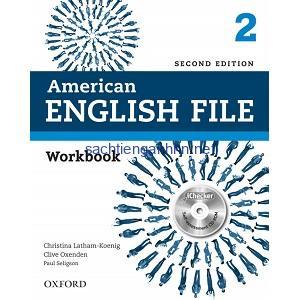 American English File 2 Workbook 2nd Edition