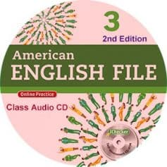American English File 3 2nd Edition Class Audio CD4