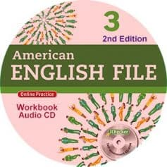 American English File 3 2nd Edition Workbook Audio CD