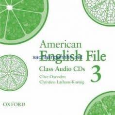 American English File 3 Class Audio CD2