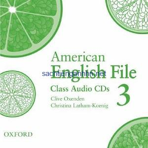 American English File 3 Class Audio CD3
